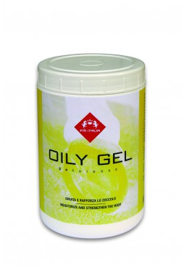 OILY GEL gel oleoso per zoccoli idratante e rinforzante vaso da 1000 ml