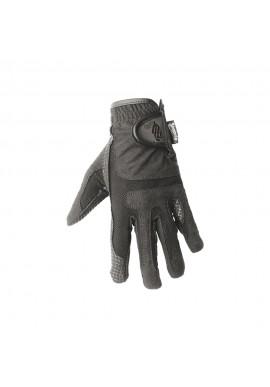 Guanti in tessuto tecnico con palmo antiscivolo