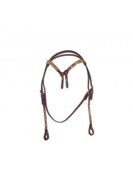 Briglia Western Lakota Bow Rawhide