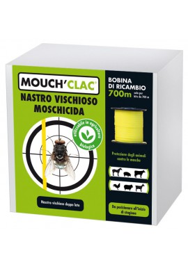 RICARICA NASTRO VISCHIOSO MOSCHICIDA COPYR 700 METRI