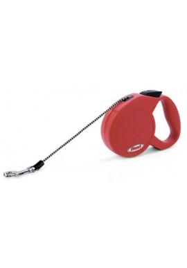 flexi Guinzaglio Classico Basic XS, max. 8kg, rosso