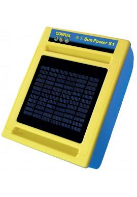 RECINTO CORRAL SUN POWER S1 PANNELLO SOLARE BATTERIA E TRASFOR. DI EMERG