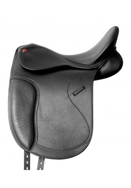 SELLA DRESSAGE PRO-LIGHT IN CUOIO FRANCESE ARCIONE REGOLABILE