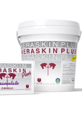 Keraskin PLUS granulato mangime complementare 40 buste da 25 g