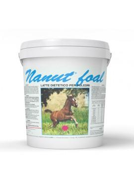 Nanut foal Polvere mangime complementare Secchiello da 10 kg